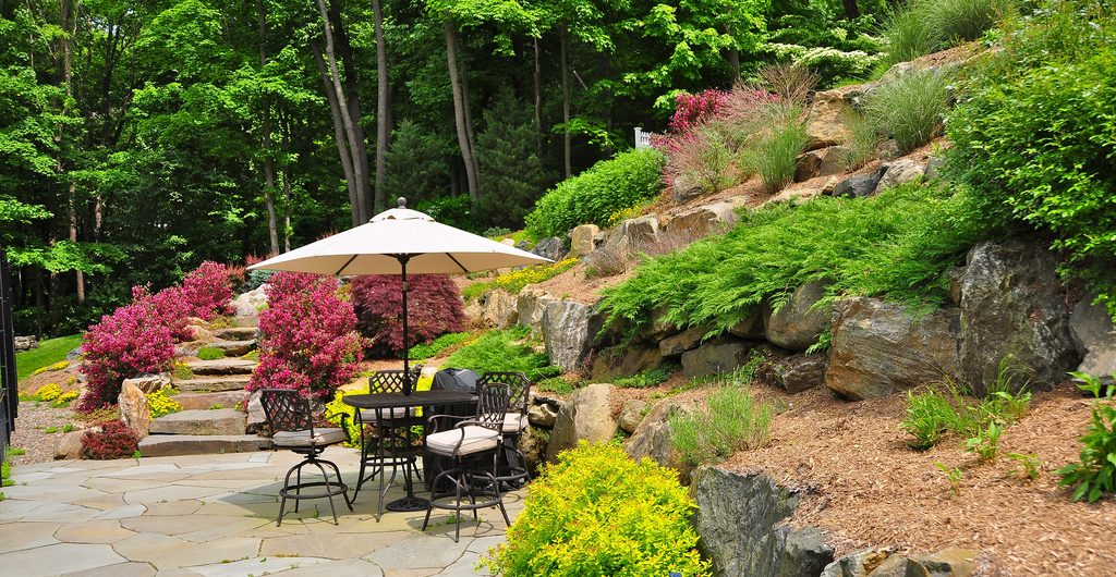 Backyard Beauty, Kaplan Residence, Pound Ridge, NY