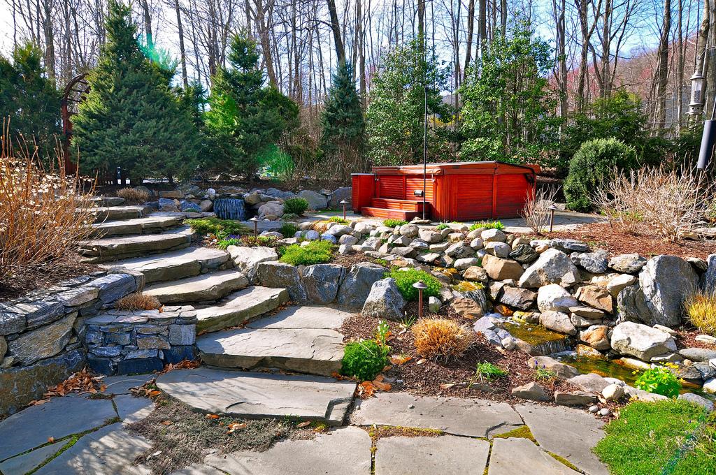 Backyard Spa, Patio & Pondscape Paradise, Northern Westchester, NY