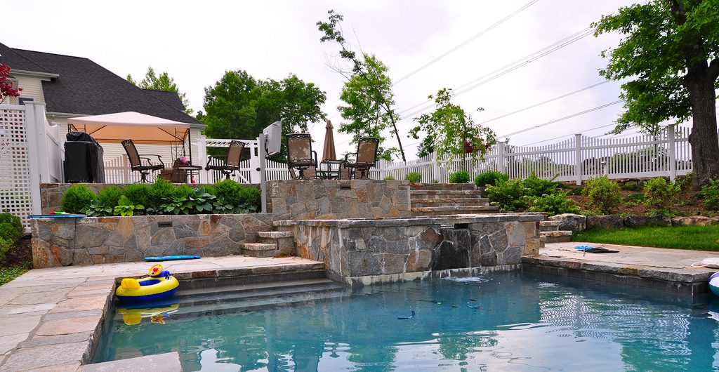 Childs Poolscape, Westchester County