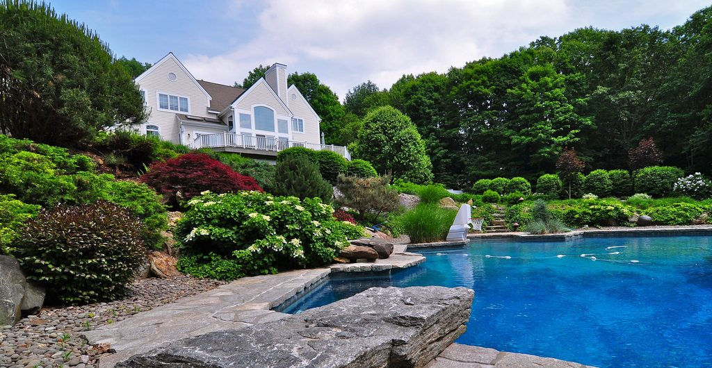Stone And Water Landscape, Northern Westchester