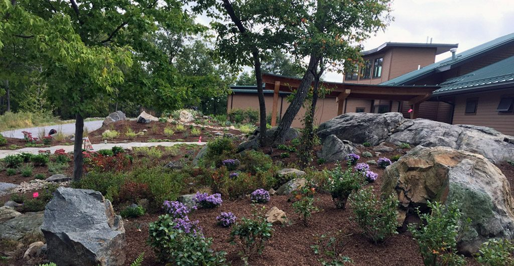 Project Finish – Water Feature With River Rock Pathways 05