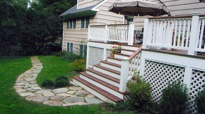 Simple And Sweet Stone Path, Chappaqua, NY